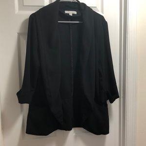 Used sz L Ny & Company black blazer